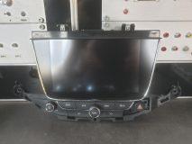 Opel Astra K radio navigatie scherm